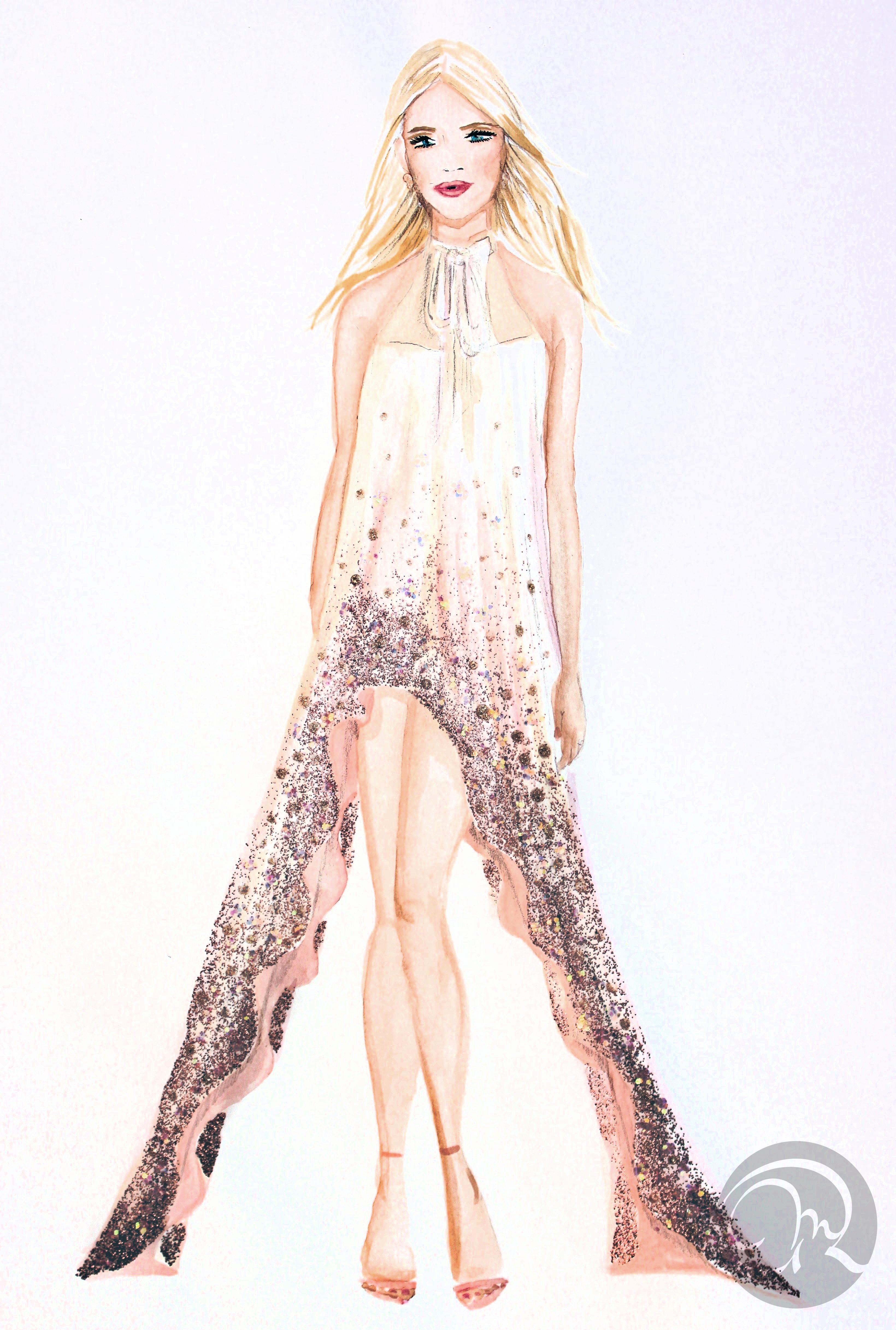 Fashion Sketches Oro Continua